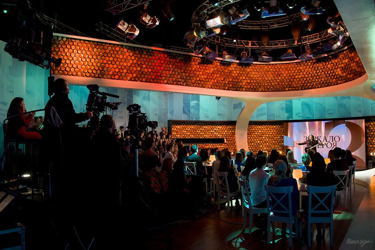 Оксана Пушкина — «Зеркало для героя» — backstage