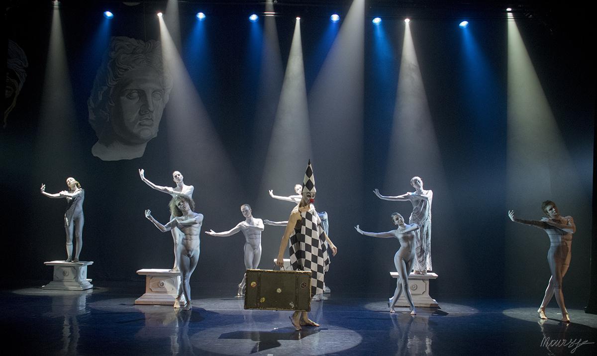 """""""Глазами клоуна"""", хореографическая драма, театр Алексея Рыбникова, 2014 г."""