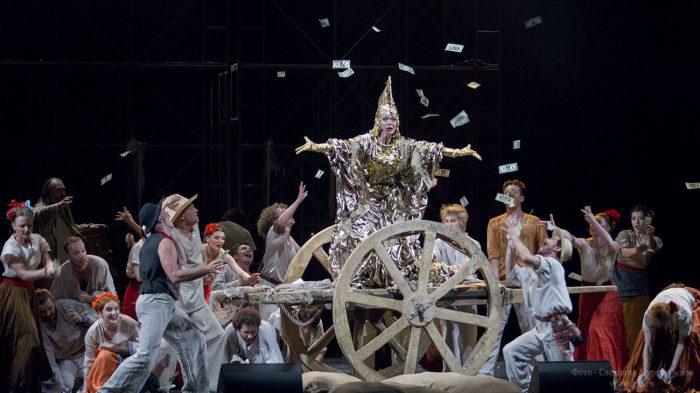 «Хоакин Мурьета»  театра Алексея Рыбникова — премьера в театре им. Е.Вахтангова (2014 г.)
