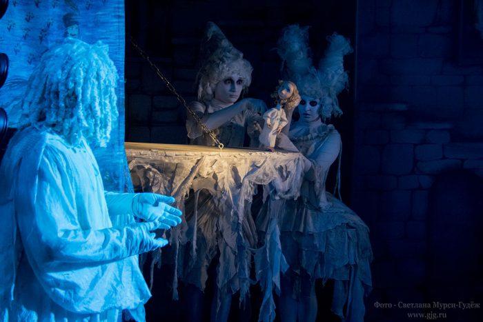 «Кентервильское привидение» на Международном фестивале кукольных театров