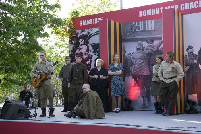 День Победы-2015 у Никитских ворот