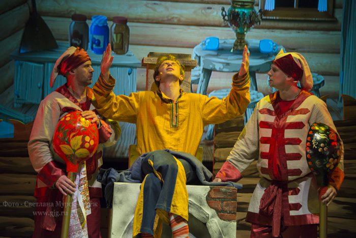 Премьера сказки-мюзикла «Емеля» Станислава и Яны Зельцер