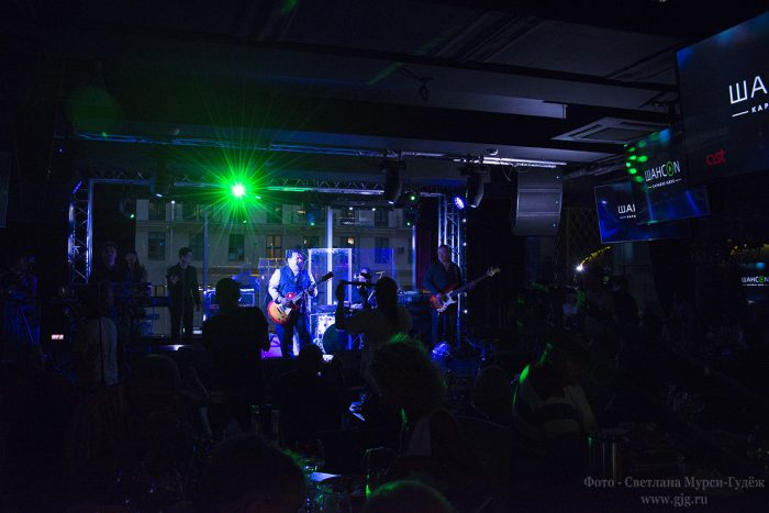ФОТОГРАФИЯ: Концерт Игоря Саруханова на открытии караоке-клуба «ШансON»